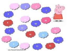 Peppa Pig Potty Training Reward Chart Printable Peppa Pig Reward Charts