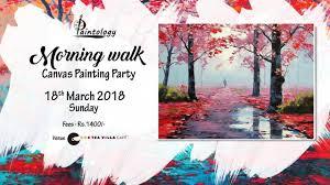 s eventshigh com detail mumbai bb03d1ceb36e0a39555be5c98fc7542a morning walk canvas painting