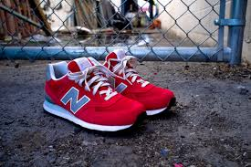 new balance red. we have seen many red color scheme on a new balance model and today, another in the 574 elite edition. featuring suede