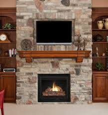 ... Replacement Gas Fireplace Fronts Fireplace Brick Wall Elegant Modern  Minimallist Decor Design Indoor Home ...