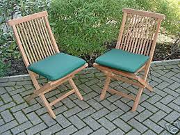 nice 6 seater teak garden furniture set table extends cushions included