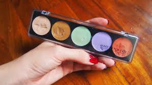 review make up for ever 5 camouflage cream palette no 5