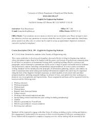 Beauchesne 2018 Engl 199 Syllabus English For Engineering