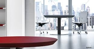 ceo small round leather meeting table
