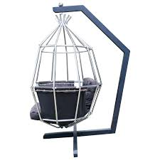 modern birdcage fabulous hanging parrot mid century modern birdcage chair for