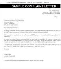 complaint letter templates word samples examples  employee complaint letter