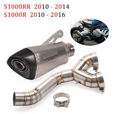 Automotive 61mm Racing Muffler Exhaust Middle Pipe For <b>BMW</b> ...