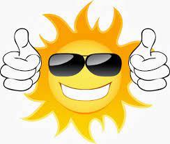 Summer sun in sunglasses free image download