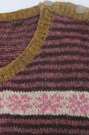 Rowan Fine Tweed Colour Chart Knitting Ruth Hardy Page 2