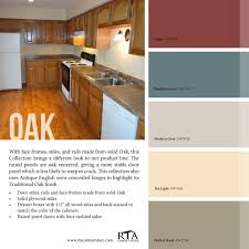 kitchen wall colors with oak cabinets. Color Palette To Go With Oak Kitchen Cabinet Line- For Those Wall Colors Cabinets O