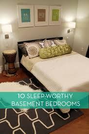 10 Sleep Worthy Basement Bedrooms