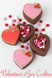 Decorative Cookie Boxes Valentine's Heart Cookie Boxes Glorious Treats 30