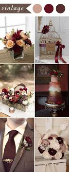 Burgundy is a very beautiful wedding color for your big day. You can add a