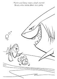 Kleurplaat Finding Nemo 8837 Kleurplaten