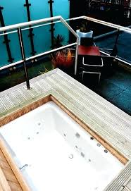 soaker tub for two large freestanding