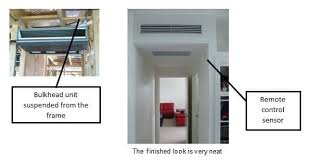 ducted air conditioning system. bulkhead ducted air conditioning systems system