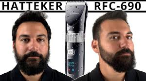 Haircut - Hatteker RFC-690 <b>Hair Clipper</b> and <b>Beard Trimmer</b>