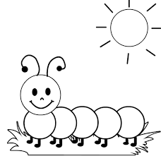 caterpillar coloring page. Modren Page Caterpillar Coloring Page Letter Inside R
