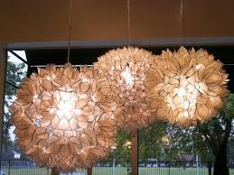 vivaterra lotus flower chandelier idea