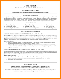 Accounts Payable Resume Samples Sample Resume For Accounts
