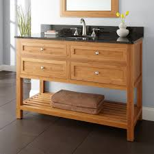 bamboo bathroom vanity. To Your Master Bath With The 48\ Bamboo Bathroom Vanity Signature Hardware