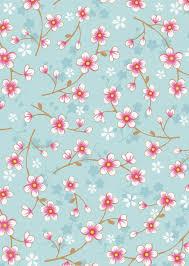 Afbeelding Van Cherry Blossom Behang Blauw Kuvat Ja Taustat