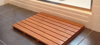 Bamboo Bath Rug Rugs Ideas
