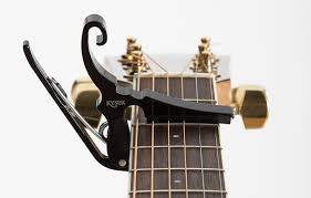 Kyser Short Cut Capo Chord Chart Partial Capos Kyser Musical Products
