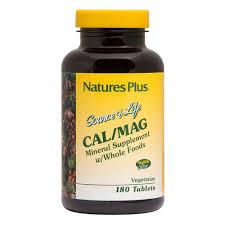 <b>Source of Life</b> ® <b>Cal</b>/<b>Mag</b> 500/250 mg Tablets   Naturesplus.com