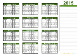 Editable Calendar 2015 Excel Under Fontanacountryinn Com