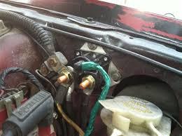 mustang starter motor relay solenoid (85 93) sw1951c 92 mustang starter solenoid wiring diagram at Mustang Starter Solenoid Wiring Diagram