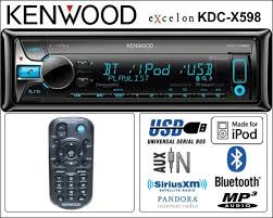 the install doctor the do it yourself car stereo installation itunes kenwood kdc x598 104 95 shipping pandora iheart radio itunes