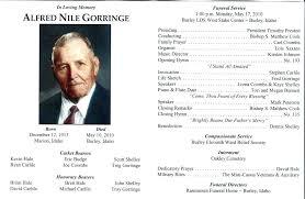 Funeral Programs Samples Gorgeous 48 Funeral Program Template Word Lds Samples Memorial Service