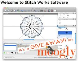 Crochet Chart Software Mac The Super Stitch Works Software Giveaway On Moogly Moogly