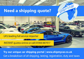 Car Shipping Quotes Magnificent Classic Car Shipping From The USA Dubai Etc Full Service Car