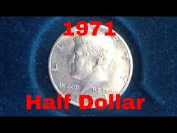 1971 Kennedy Half Dollar Mintage 155 Million No Silver