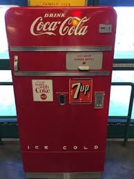 Coca Cola Vending Machine Manual Simple CocaCola Vendo 48 Vending Machine Vintage 48 Holds 48 Small