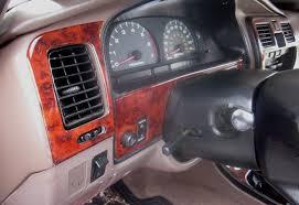 1996-1998 Toyota 4-Runner Wood Grain Dash Trim Kit