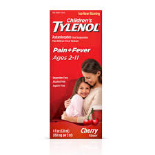 Childrens Tylenol Ages 2 11 Pain Fever