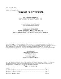Gallery Of Request For Proposal Email Sample