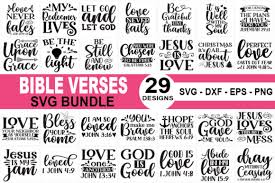 This free svg cutting file contains the following formats if you wish to share our … Bible Verses Svg Bundle Graphic By Sellzz Creative Fabrica