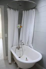 clawfoot tub shower enclosure set. cool looking clawfoot tub shower surround. enclosure set
