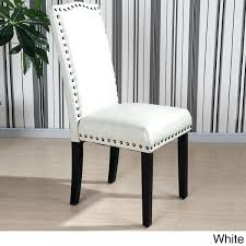 nailhead dining chairs dining room. Nailhead Dining Chair Leather Chairs Room Traditional In With S From . I