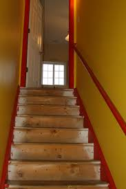 Basement Stairs And Then I Married Hans - Painted basement stairs