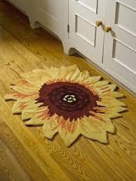 sunflower rug pottery barn
