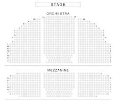Theatre Seating Chart The Most Amazing Along With Gorgeous Broadhurst Theatre