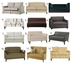 Couches for small spaces Unique In This Supersized World Sometimes Finding Small Space Furniture Can Be Challenge Case In Point Small Sofas Im Currently Looking For Sofa But It Huffpost Small Space Seating Sofas amp Loveseats Under 60 Inches Wide