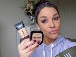 new loreal infallible pro matte foundation and powder bash it or it you