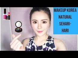 cara makeup natural sehari hari ala korea step by