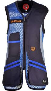 Castellani Shooting Vest Size Chart Castellani Sport Rio Clay Shooting Vest Right Handed Gilet